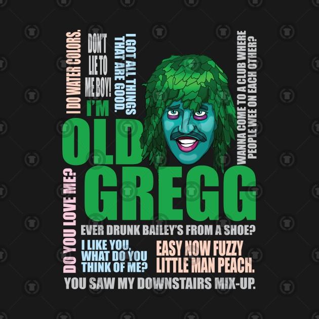 Old Gregg Quotes - Comicspipeline.com