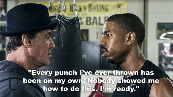 image result for creed movie quotes boxing and in life