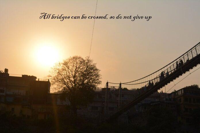 inspirational quotes about bridges quotesgram sympathy