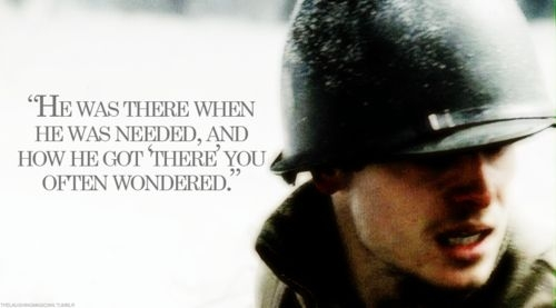 band of brothers doc roe he was there when he was needed