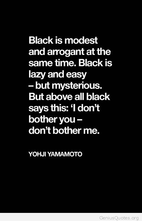 black is mysterious quote genius quotes