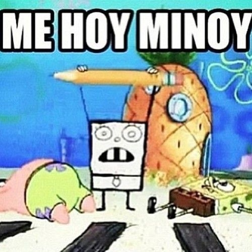 doodlebob lol you know you read it in his voice noise growl