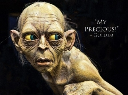 gollum precious quote quote number 688882 picture quotes