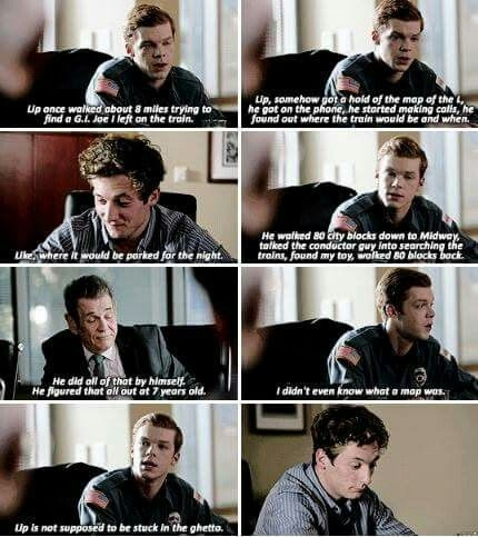 shameless lip and ian shameless tv show shameless