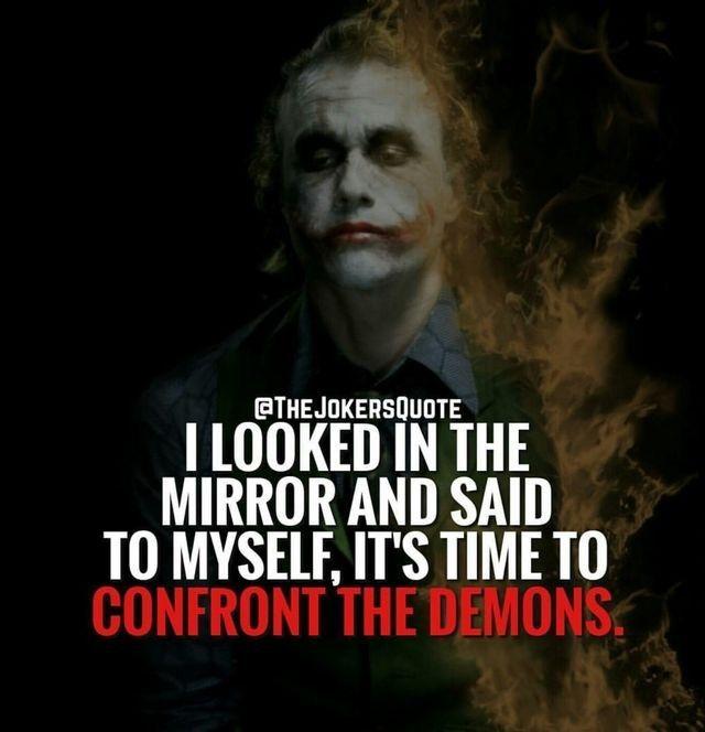 the joker villain quotes strong words joker quotes best