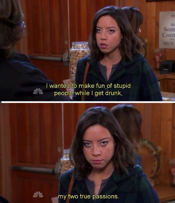 april ludgate quote parks and recreation april ludgate