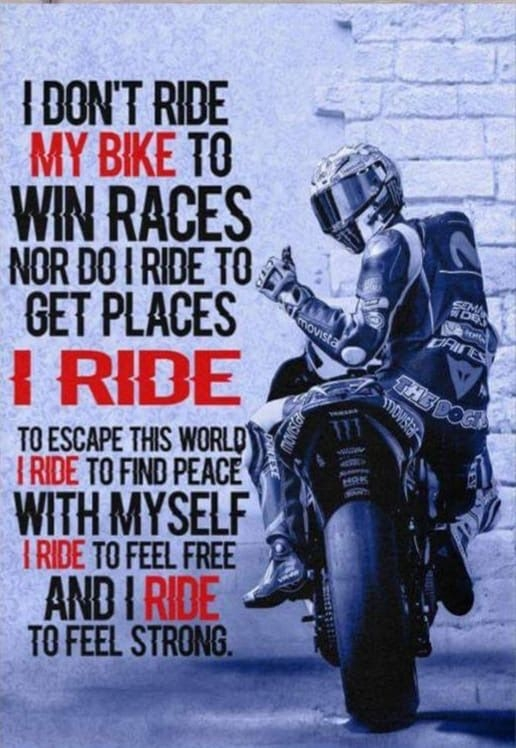 bcoz i know tht m coward bike quotes biker quotes