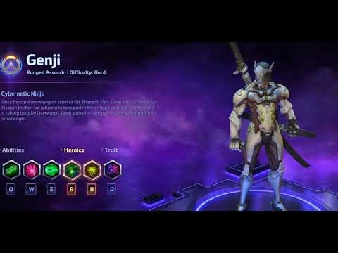genji quotes heroes of the storm