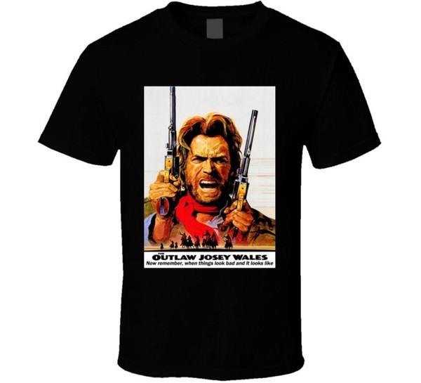 grohandel outlaw josey wales eastwood zitiert western cowboy film eastwood t shirt von lijian088 1208 auf dedhgate dhgate