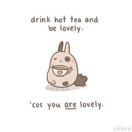 i am going to have poori for di chibird cute quotes tea