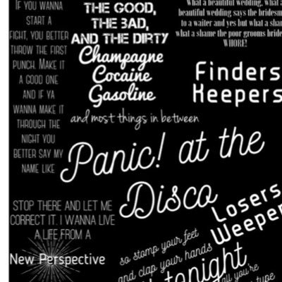 medien tweets von panic at disco quotes discoquotes twitter