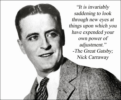 nick carraway quotes about american dream the theme of the