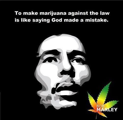 stoner quotes bob marley