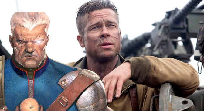 Deadpool 2: Brad Pitt è stato seriamente in lizza per Cable