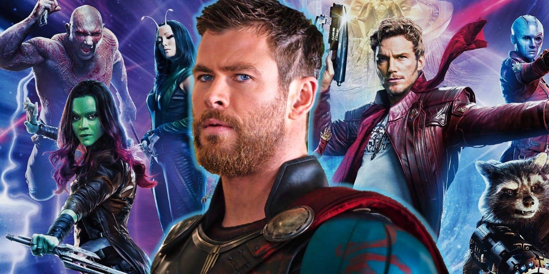Avengers: Infinity War, Thor e i Guardiani della Galassia ...