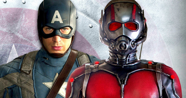 Ant-Man Paul Rudd Chris Evans
