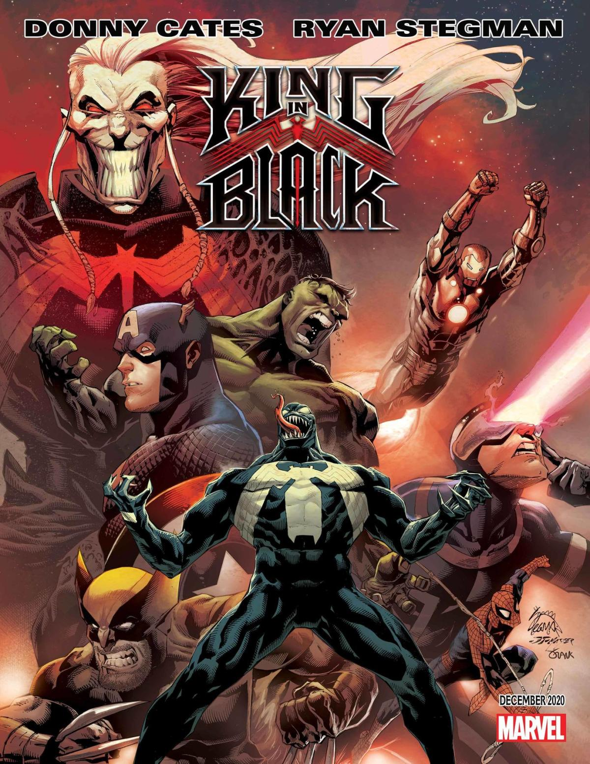 King in Black Venom Marvel