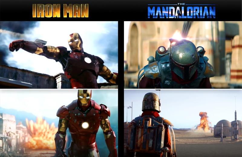 The Mandalorian Iron Man