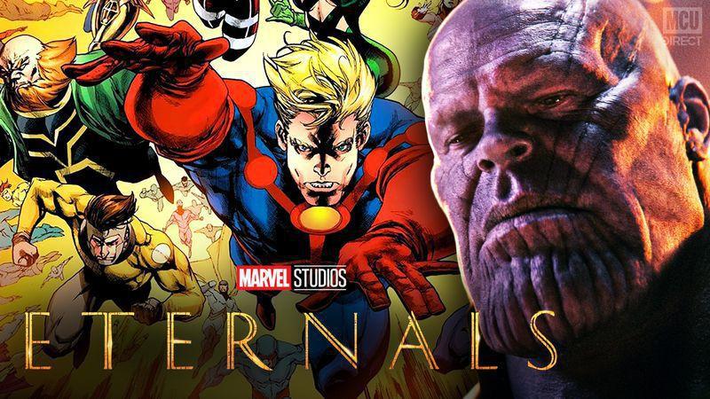 Eternals Thanos Jim Starlin
