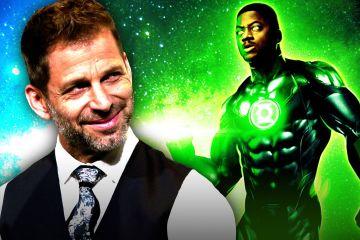 Zack Snyder's Justice League lanterna Verde