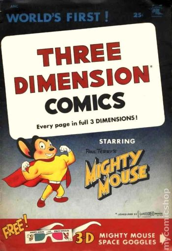 Mighty Mouse 3D COVER