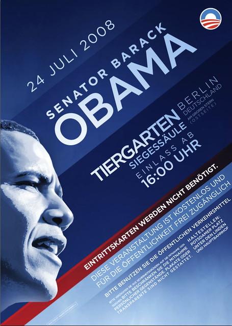 Manifesto Candidatura Barack Obama
