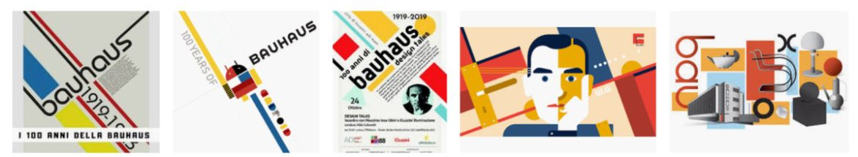 "Risultati google per ""Bauhaus"""