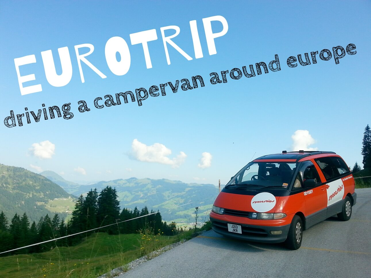 Europe campervan Itinerary