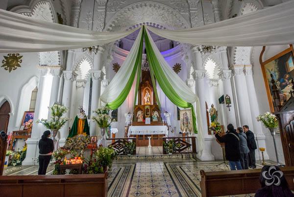 Celebración de San José en su día el 19 de marzo.