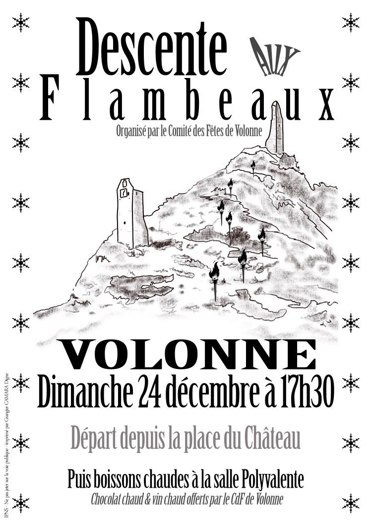 Descente aux flambeaux Volonne 2017