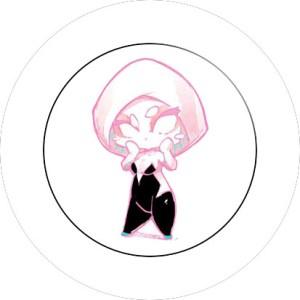 SPILLA 2,5 CM MARVEL SPIDER GWEN