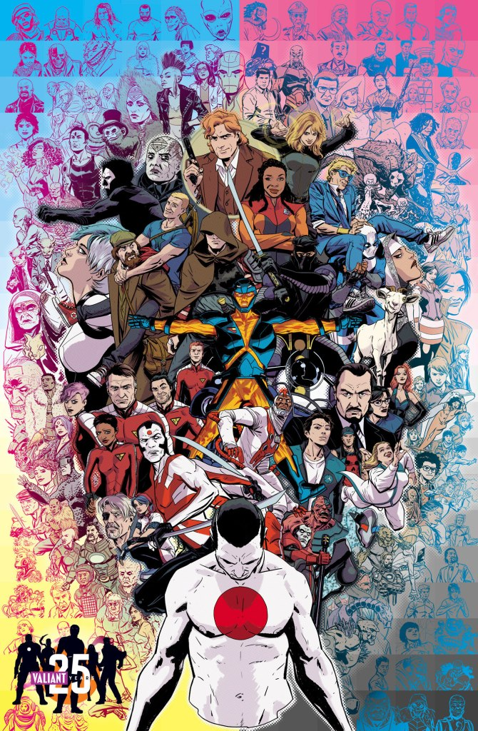VALIANT_25th_poster_Artwork by Kano