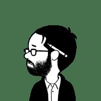 Adrian Tomine - self-sketch