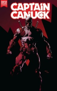 CAPTAIN CANUCK #1 David Finch cover