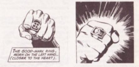 Phantom good mark ring and evil mark ring