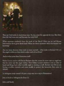 ASYLUM #11 note from creators