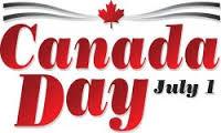 Canada Day July 1