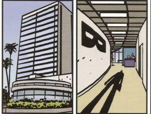 MAYDAY #4 pg. 27 panels 1-2