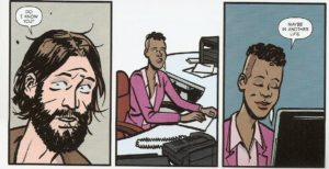 MAYDAY #4 pg. 27 panels 7-9