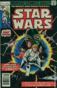 STAR WARS {1st Marvel Series} #1 newsstand 35 cents