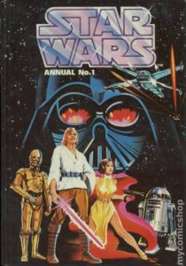 STAR WARS {1st Marvel Series} ANNUAL #1 reprint by Brown Watson Rainbow Book