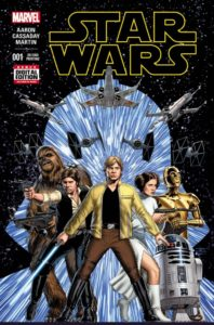 STAR WARS {2nd  Marvel Series} #1 2nd printing