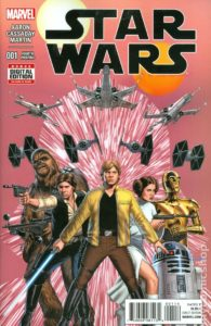 STAR WARS {2nd  Marvel Series} #1 4th printing