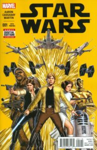 STAR WARS {2nd  Marvel Series} #1 5th printing
