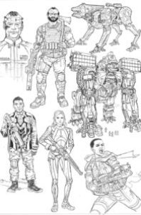 WE STAND on GUARD #1 sketch page 3