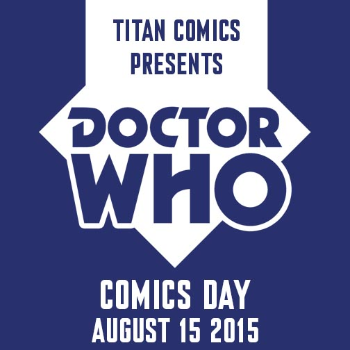 Doctor Who Day Comics Covers