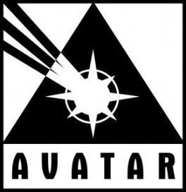 Avatar Press logo - black & white