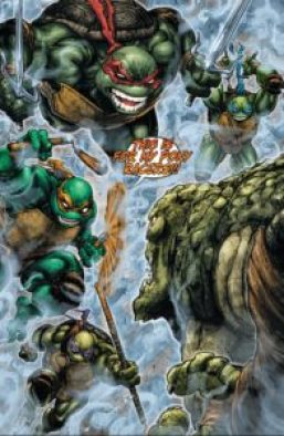 BATMAN • TNMT #1 Turtles meet Croc