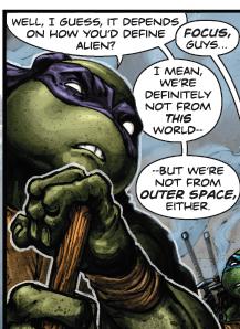 BATMAN • TNMT #1 define alien