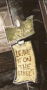 BATMAN • TNMT #1 money & note